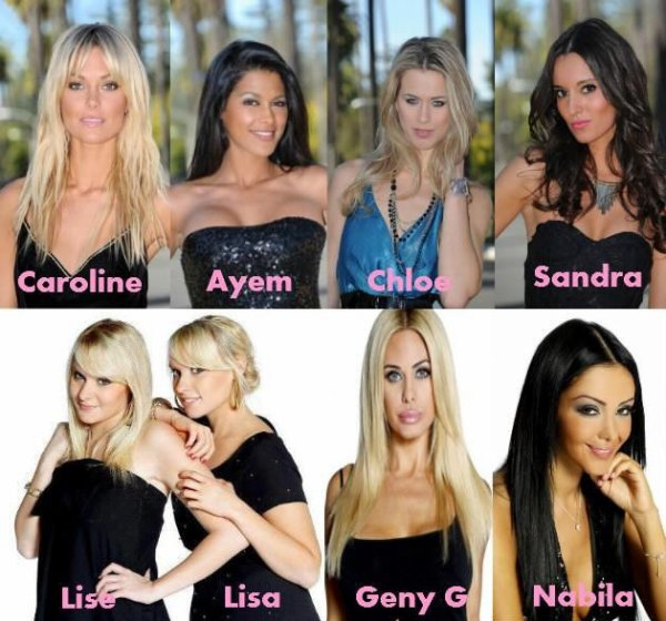 Hollywood Girls: les filles.