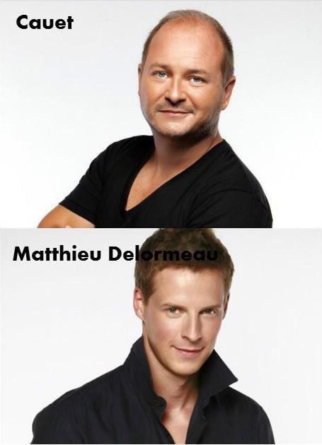 Cauet / Matthieu delormeau.