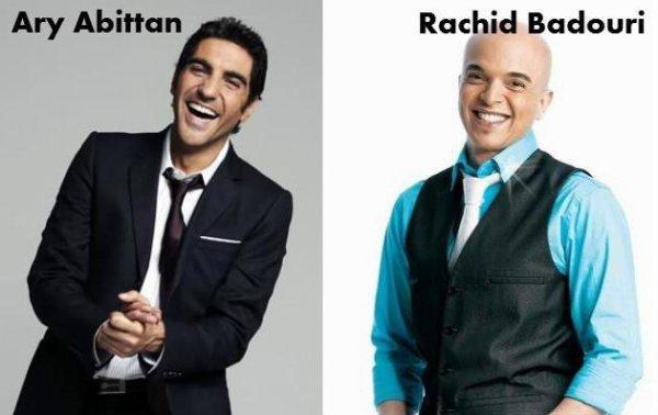 Ary Abittan / Rachid Badouri.