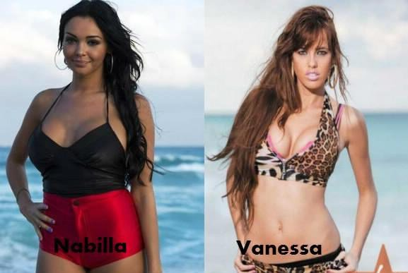 Nabilla / Vanessa.