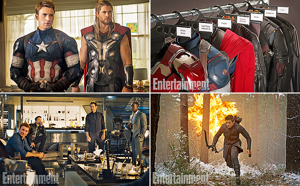 Entertainment Weekly - Avengers: Age Of Ultron