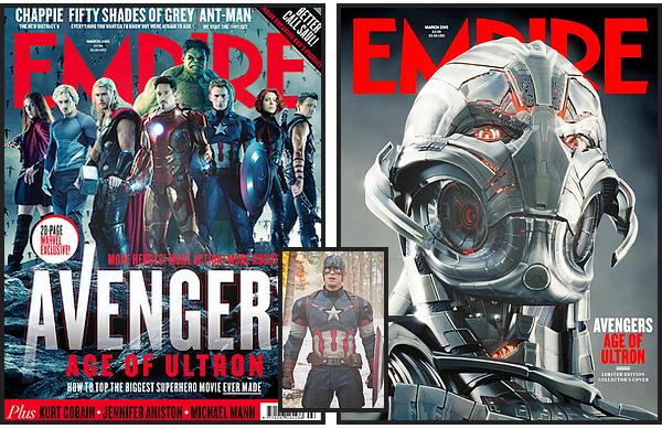 EMPIRE Magazine (Avengers: Age of Ultron)