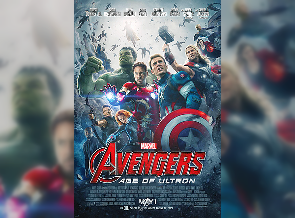 Avengers: Age Of Ultron official poster