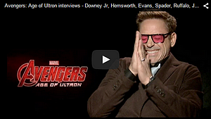 Avengers: Age of Ultron - press tour 1