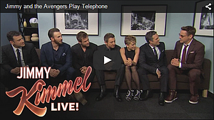 13.04.2015 | Jimmy Kimmel Live - Avengers Age: Of Ultron promo