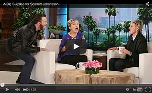 30.04.2015 | Ellen DeGeneres Show (+ Cap3 Shooting)