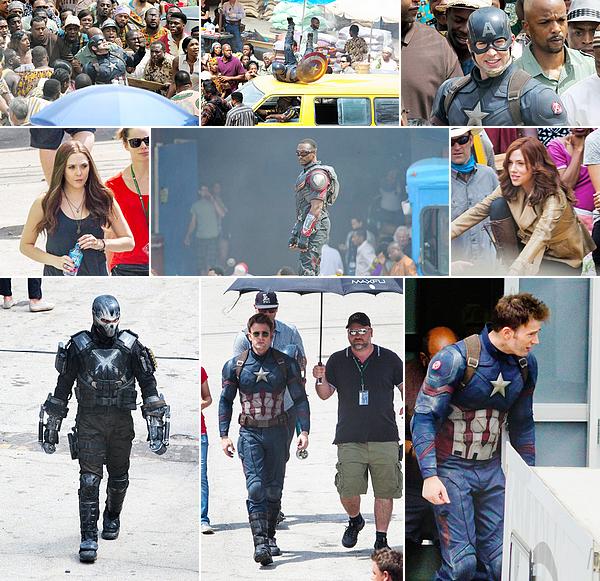 15.05.2015 | Captain America: Civil War filming in Atlanta