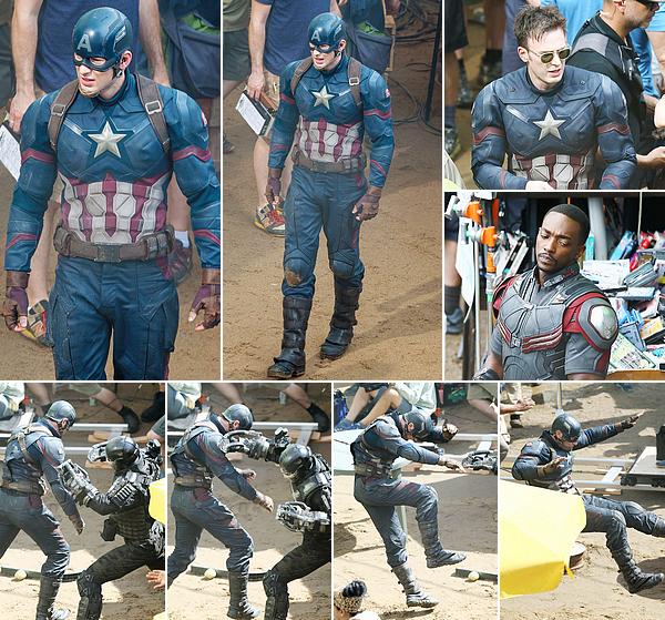 18.05.2015 | Captain America: Civil War filming in Atlanta