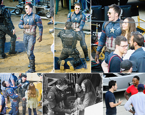 20.05.2015 | Captain America: Civil War filming in Atlanta