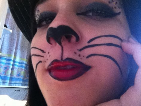 Maquillage Chat