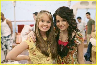 Debby Ryan et Selena Gomez