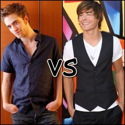 Zac Efron vs Robert Pattinson