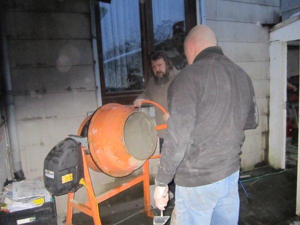 Construction de la pièce d'élevage
