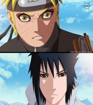 Naruto et Sasuké