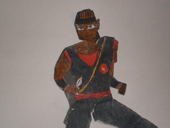 Alexis Uzumaki (mon personnage de bd)