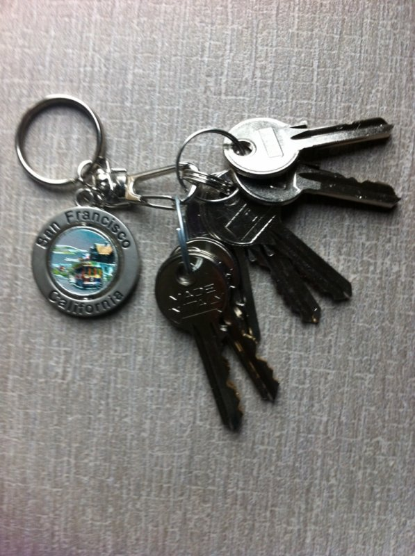 Enfin nos clés :D