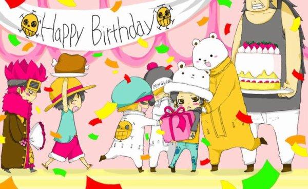 bonne anniversaire traffy ♥ ♥ ♥ (en retard)