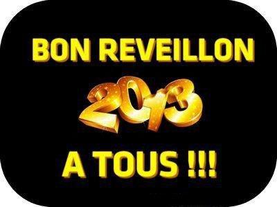 Bonne année 2013 et bon révéillon
