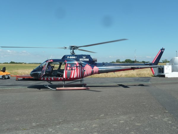 Moi et Mon Coeur en bapteme en Hélicoptère 30 / 06 / 2013