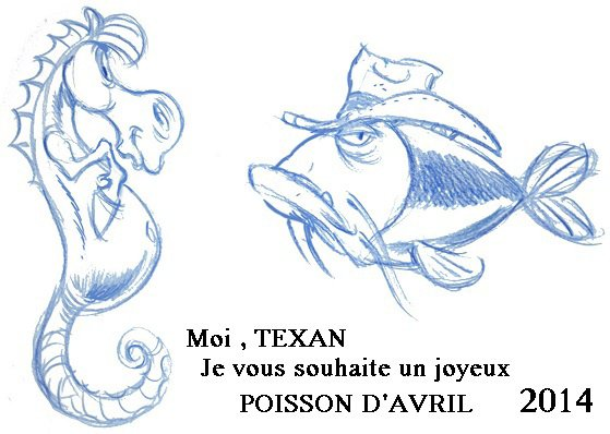 Le Poisson d'Avril 2014