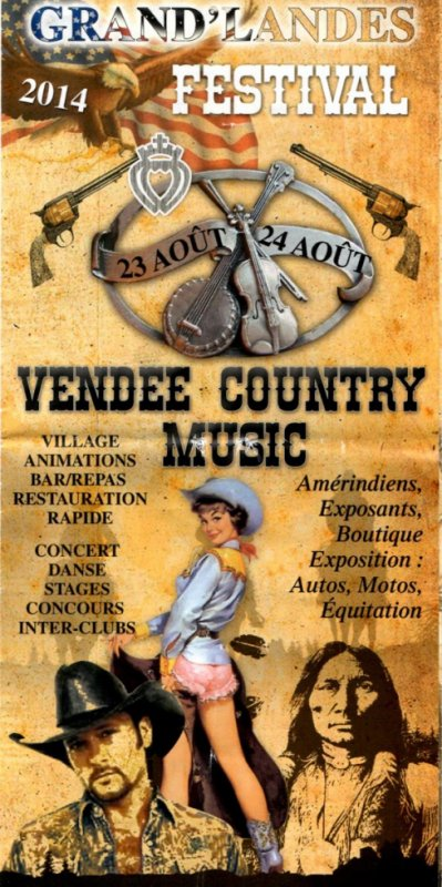 01 Vendée Country Music 2014 Grand'Landes ( 85 )