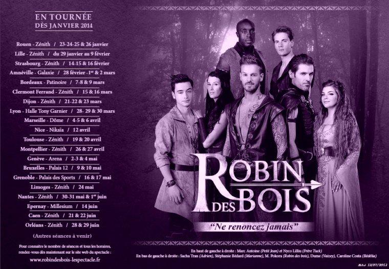 La tournée de Robin des Bois