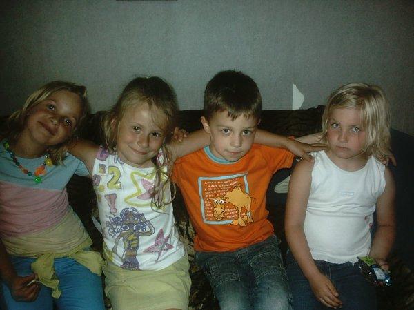 Kieran,Camille,Manon et Moi