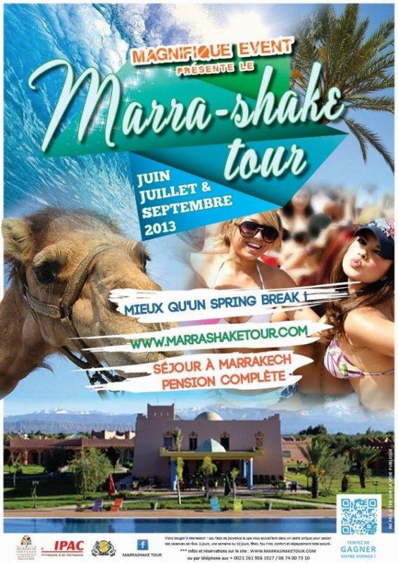 Marra-shake tour