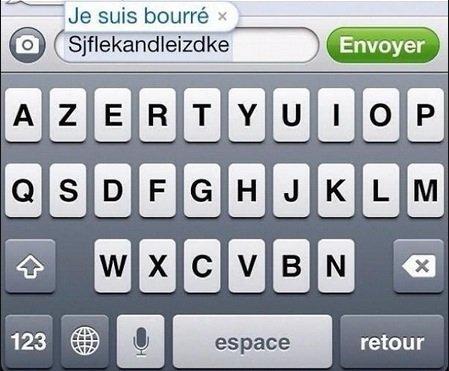 Même l'iPhone sait MDR