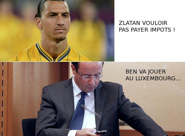 Hollande répond à Ibrahimovic