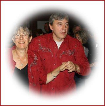 Fred et Dany - mes amis de Cap Danse à WINGLES - septembre 2004