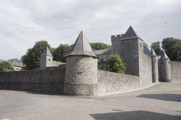 Les chateau de belgique
