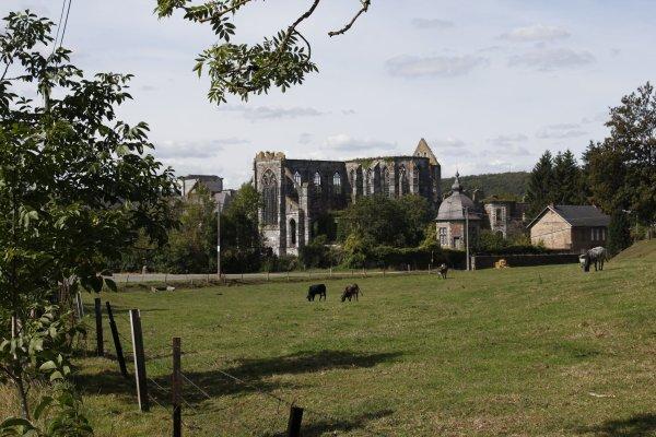 L'abbaye d'Aulne
