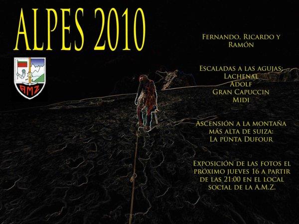 ALPES 2010 -  La historia