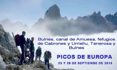 MÁS FOTOS DE  RUTEROS.NET - PICOS DE EUROPA: ACTIVIDAD DEL  25 Y 26 DE SEPTIEMBRE