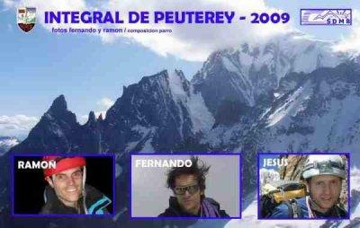 Jesús Fernández Fernández - Vicepresidente del Club Montañero Benaventano - «La Integral de Peuterey es la arista más larga de Europa; tres días de escalada»
