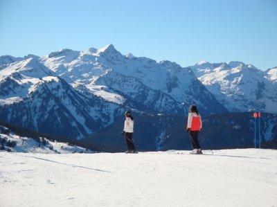 Baqueira-Beret - Algunos tienen suerte..., y  mucho ánsia de nieve !!!