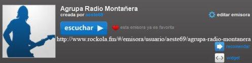 AGRUPA RADIO MONTAÑERA: MI REGALO PARA ESTAS NAVIDADES: UNA EMISORA DE RADIO MUSICAL PARA TODOS LOS AMIGOS DEL BLOG !!!