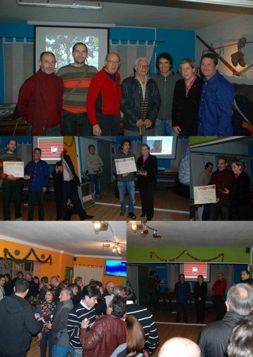 PREMIOS ANUALES DE MONTAÑA AMZ 2010 : MARTÍN RAMOS - FRANCISCO LOPEZ - JUANJO SARDÁ