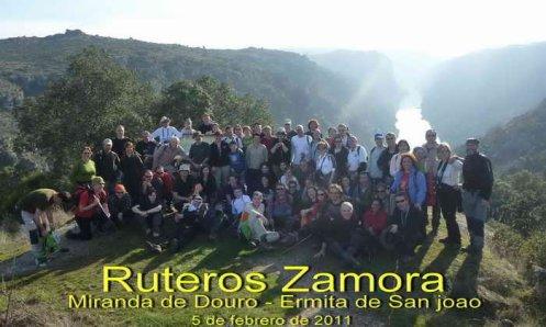 FOTOGRAFIAS DE RUTEROS: EXCURSION 5/02/ 2011, MIRANDA—ERMITA SAO JOAO-MIRANDA