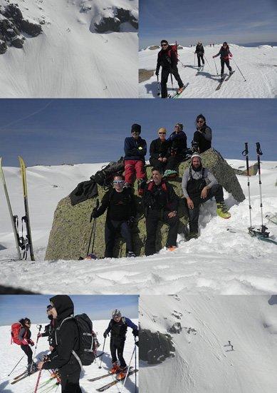 Esqui de montaña en Covatilla-Calvitero-Hoya Moros (fotos de Pablo y Folgado) y salida en BTT de sayago. (fotos de Pablo).