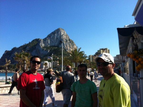Comienza la aventura mediterránea