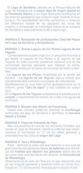 GEOLODÍA - Lago de Sanabria (Zamora) - 8 de Mayo de 2011
