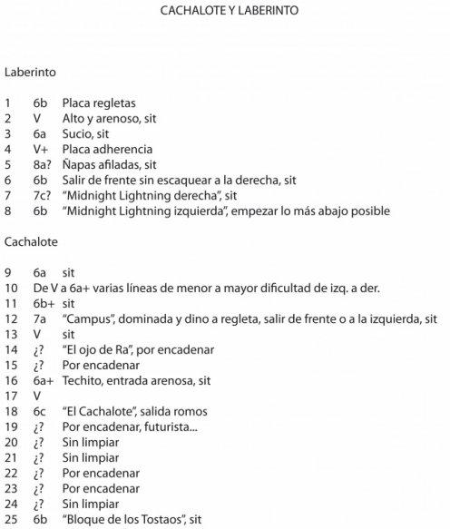 CROQUIS DE PERERUELA (BULDER I y II) Y MAS NOTICIAS DE MON by www.losdiosesdelacero.tk