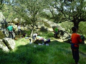 """FIN DE SEMANA DE """"LOCA"""" ACTIVIDAD, (escalada, piragua, equipamiento, Btt y regomeyo ¡¡¡"""