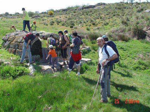 SENDERISMO MUELASBLOCK/2011: RUTA DE LOS ARRIBANZOS Y RUTA DEL CASTRO Y ERMITA DE SAN ESTEBAN.
