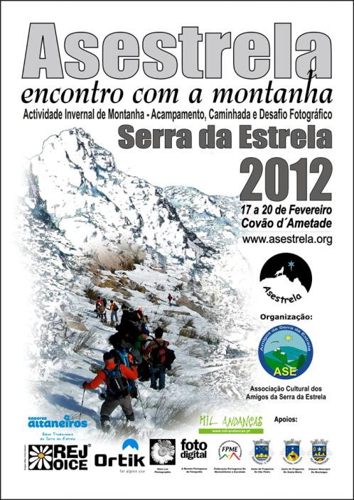 ENCUENTRO DE MONTAÑA EN LA SERRA DA ESTRELA (PORTUGAL). Del 17 al 20 de febrero 2012