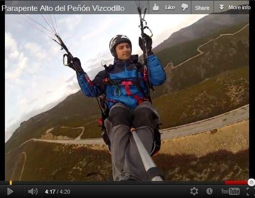 DANIEL HIDALGO, Parapente desde el Alto del Peñón del Vizcodillo !!!.