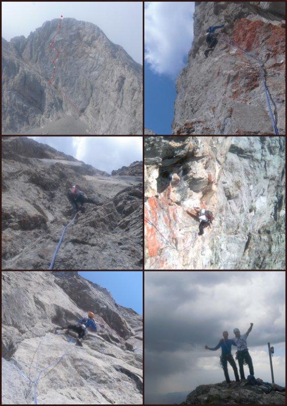 08/09/2012: RUBÉN-SOLIS AL FONTÁN  (ED inf. 400mts-150 trepada), by Manrique´s Team