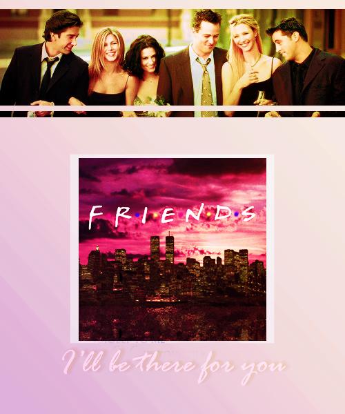___TV Meme___        J'ai choisi le  cast de  Friends car je ne pourrais jamais imaginer la série sans cessix fantastiques acteurs !